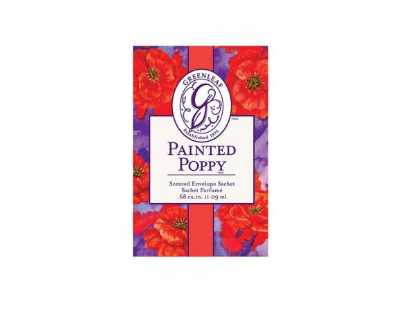 Greenleaf - Duftsachet Small - Painted Poppy