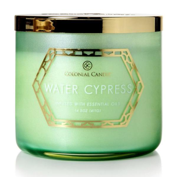 Colonial Candle - Mittlere Duftkerze im Glas - Everyday Luxe - Water Cypress