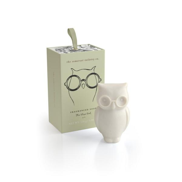 STC - Animal Shaped Soap The Wise Owl