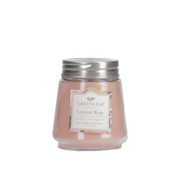 Greenleaf - Duftkerze im Glas - Petite Candle - Currant Rose