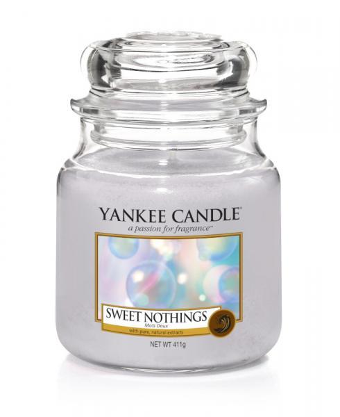 Yankee Candle - Classic Medium Jar Housewarmer - Sweet Nothings