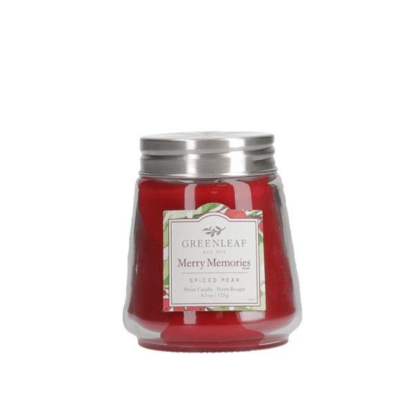 Greenleaf - Duftkerze im Glas - Petite Candle - Merry Memories Δ