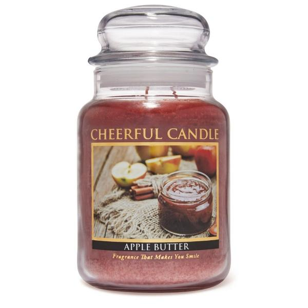 Cheerful Candle - Classic Large Jar - Duftkerze im Glas - Apple Butter