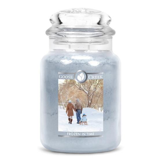 Goose Creek Candle - Classic Jar Duftkerze im Glas - Frozen in Time