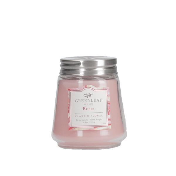 Greenleaf - Duftkerze im Glas - Petite Candle - Roses