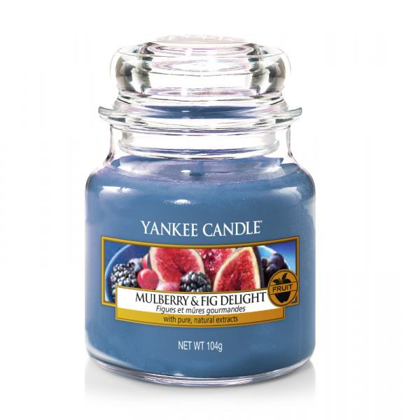 Yankee Candle - Classic Small Jar Housewarmer - Mulberry & Fig Delight