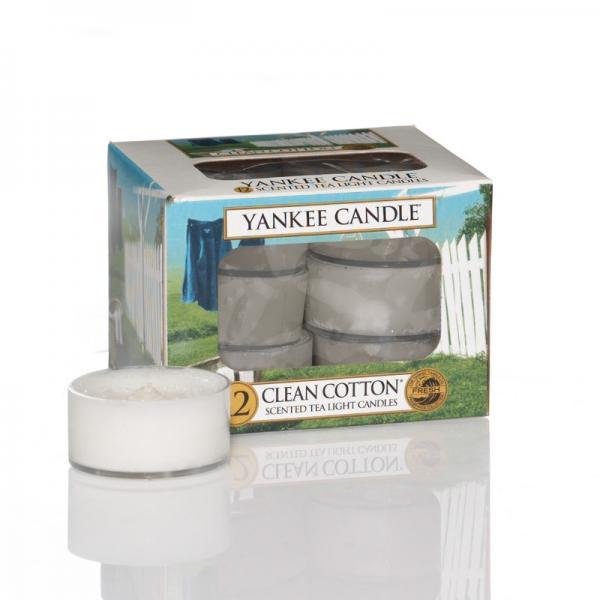 Yankee Candle - Teelichter - Classic Tea Lights - Clean Cotton