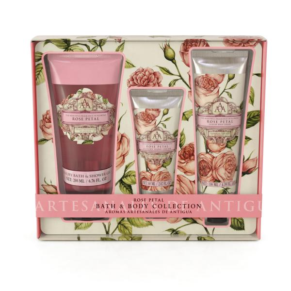 STC - Triple AAA Bath & Body Collection Rose Petal