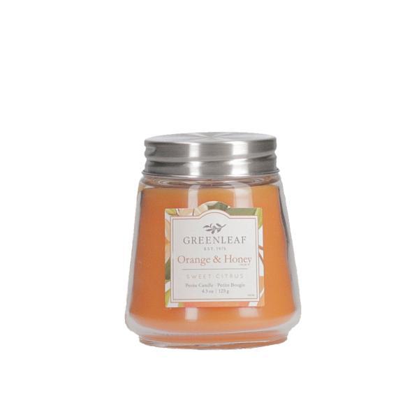 Greenleaf - Duftkerze im Glas - Petite Candle - Orange & Honey