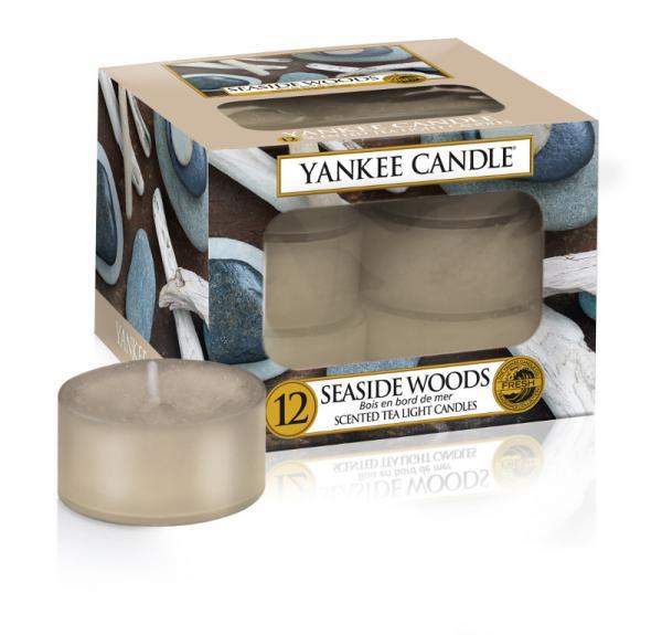 Yankee Candle - Teelichter - Classic Tea Lights - Seaside Woods