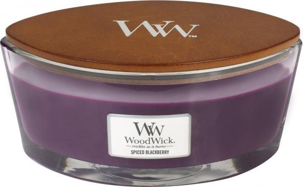 WoodWick - Hearthwick Ellipse Jar - Spiced Blackberry