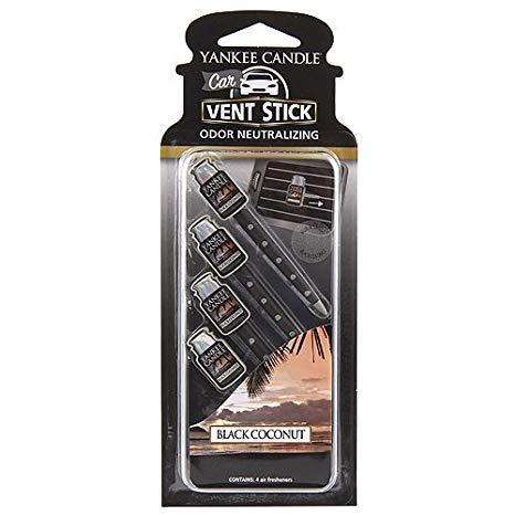 Yankee Candle - Autoduft - Car Vent Stick - Black Coconut