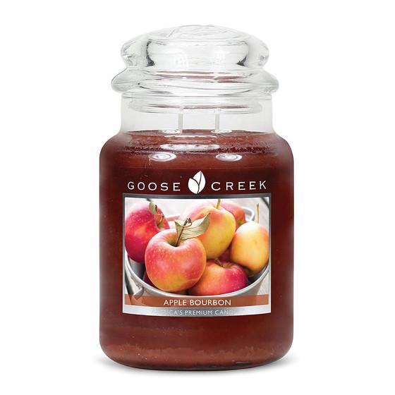 Goose Creek Candle - Classic Jar Duftkerze im Glas - Apple Bourbon
