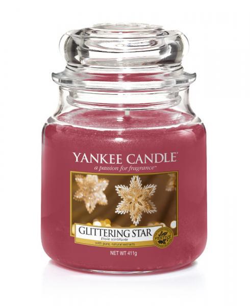 Yankee Candle - Classic Medium Jar Housewarmer - Glittering Star Δ