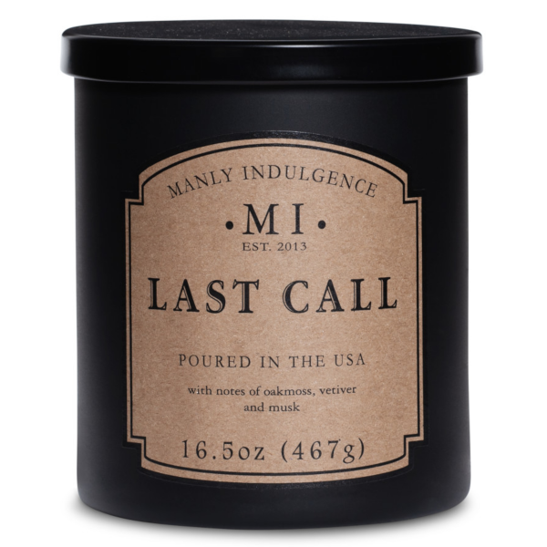 Colonial Candle - Mittlere Duftkerze im Glas - Manly Indulgence - Last Call