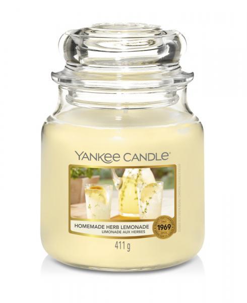 Yankee Candle - Classic Medium Jar Housewarmer - Homemade Herb Lemonade