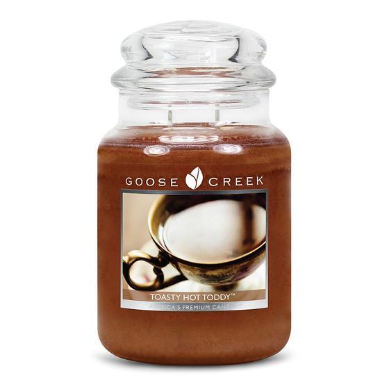 Goose Creek Candle - Classic Jar Duftkerze im Glas - Toasty Hot Toddy