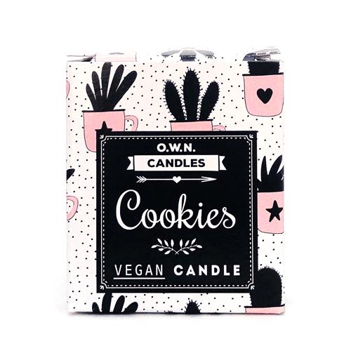 O.W.N. - Votivkerze - Cookies