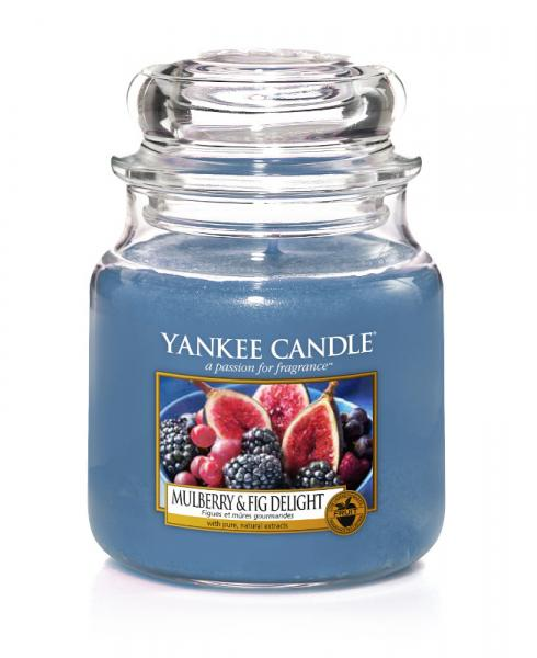 Yankee Candle - Classic Medium Jar Housewarmer - Mulberry & Fig Delight