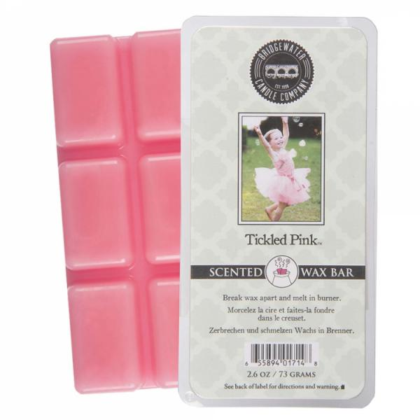 Bridgewater Candle - Scented Wax Bar - Tickled Pink