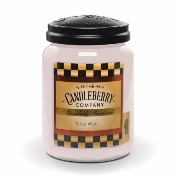 Candleberry - Duftkerze im Glas - Rose Water
