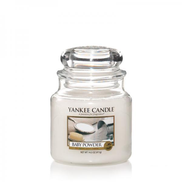 Yankee Candle - Classic Medium Jar Housewarmer - Baby Powder