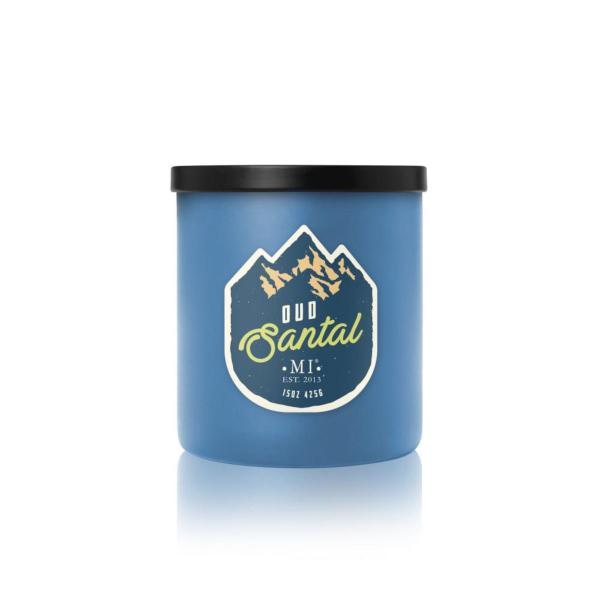 Colonial Candle - Mittlere Duftkerze im Glas - All American - Oud Santal