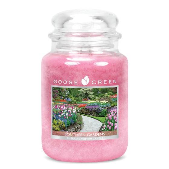 Goose Creek Candle - Classic Jar Duftkerze im Glas - Southern Gardens •