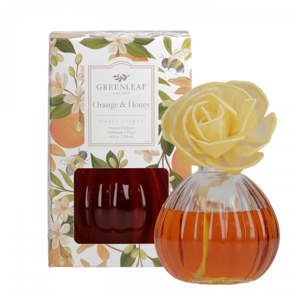 Greenleaf - Flower Diffuser - Orange & Honey