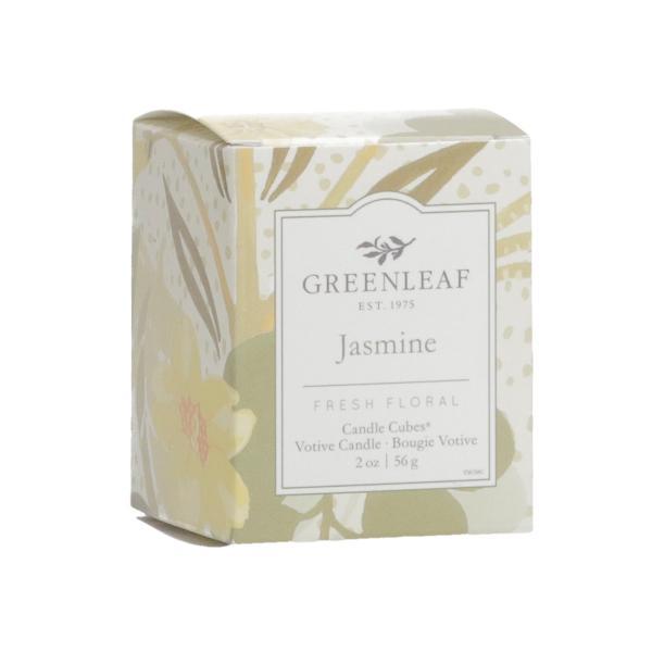 Greenleaf - Candle Cube Votivkerze - Duftkerze - Jasmine