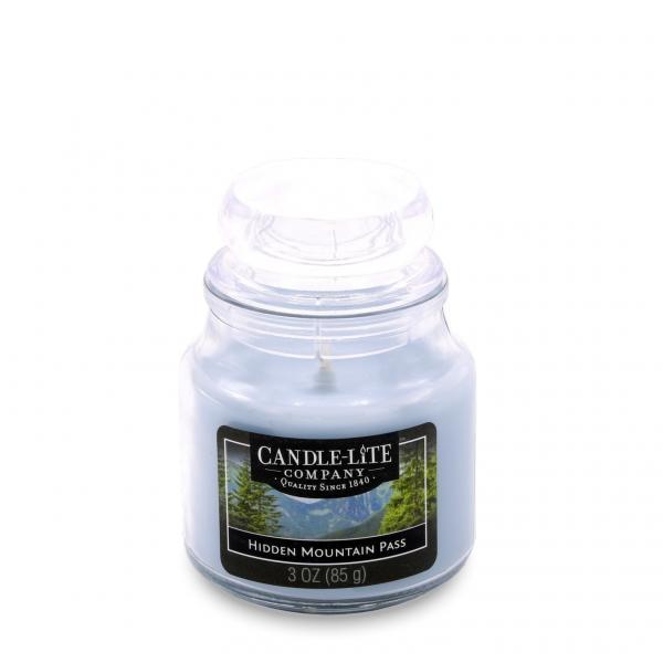 Candle-Lite Company - Kleine Duftkerze im Glas - Small Jar - Hidden Mountain Pass
