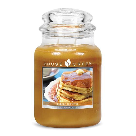Goose Creek Candle - Classic Jar Duftkerze im Glas - Maple Butter