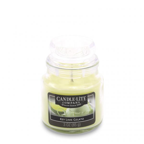 Candle-Lite Company - Kleine Duftkerze im Glas - Small Jar - Key Lime Gelato