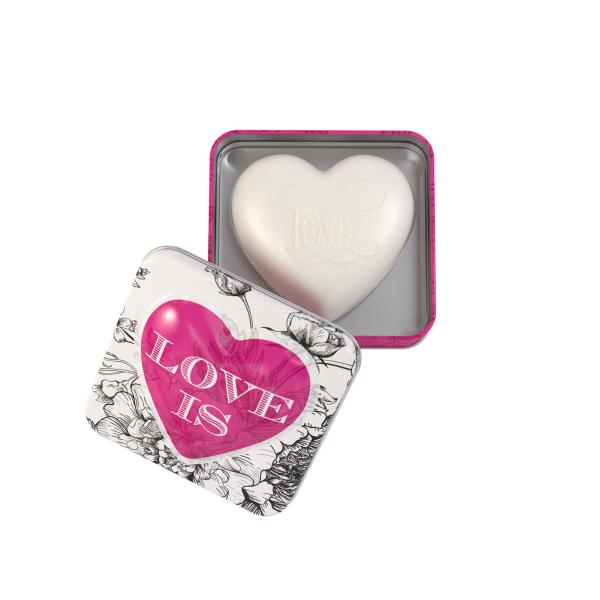 STC - Heart Shaped Tin Soap Love is