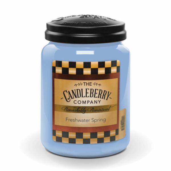 Candleberry - Duftkerze im Glas - Freshwater Springs