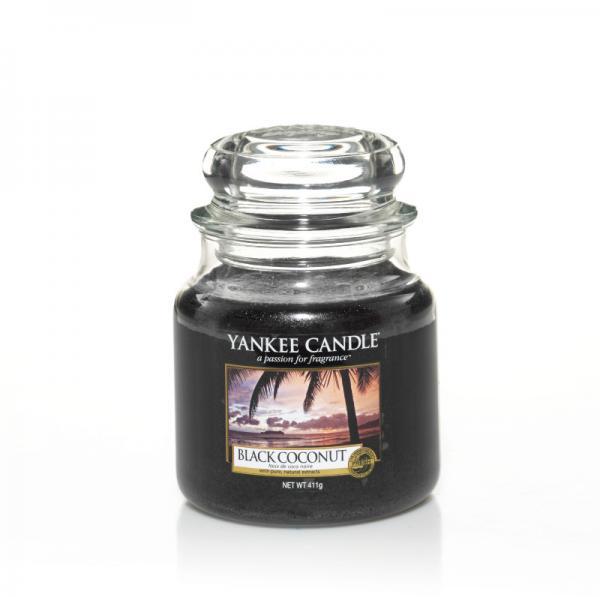 Yankee Candle - Classic Medium Jar Housewarmer - Black Coconut