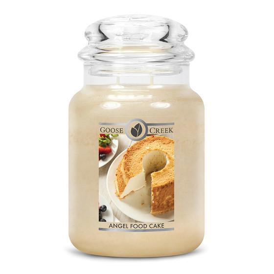 Goose Creek Candle - Classic Jar Duftkerze im Glas - Angel Food Cake
