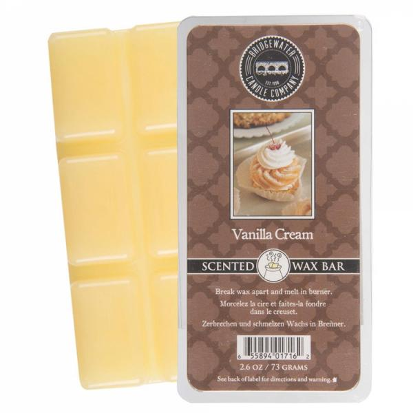 Bridgewater Candle - Scented Wax Bar - Vanilla Cream