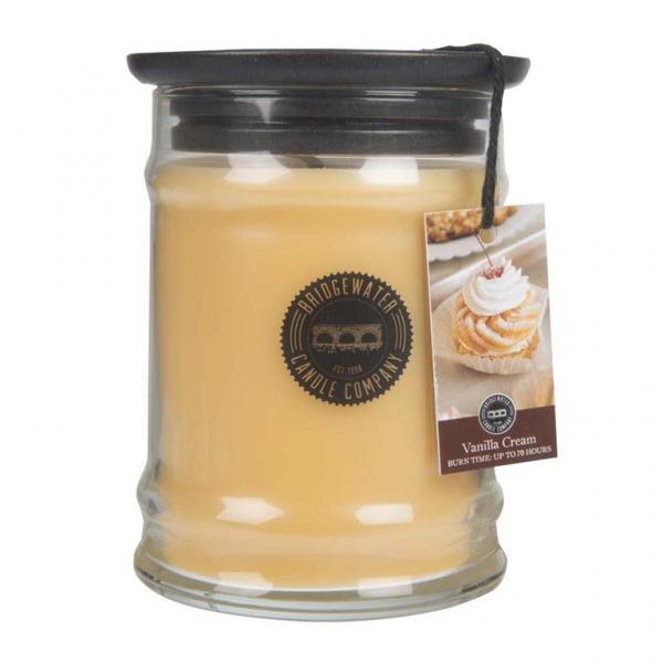 Bridgewater Candle - Kleine Duftkerze im Glas - Small Jar - Vanilla Cream