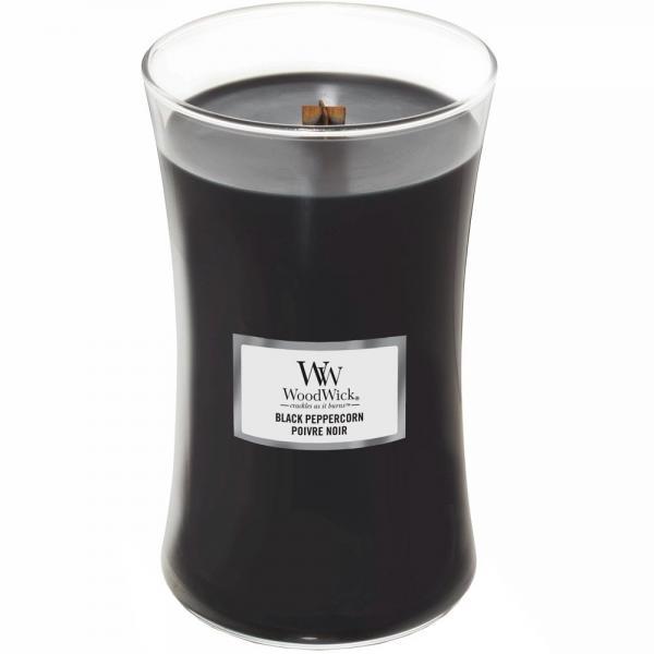 WoodWick - Large Hourglass Duftkerze - Black Peppercorn