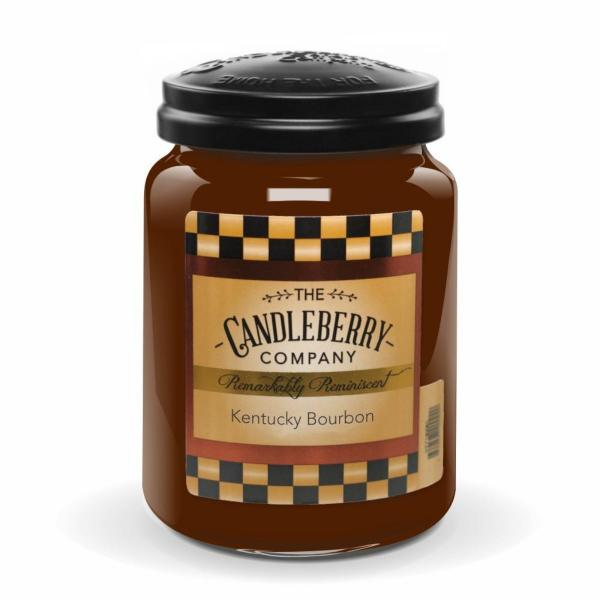 Candleberry - Duftkerze im Glas - Kentucky Bourbon