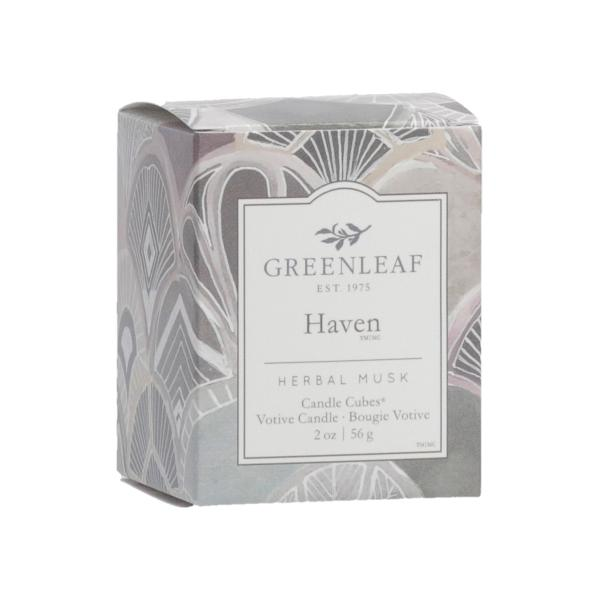Greenleaf - Candle Cube Votivkerze - Duftkerze - Haven