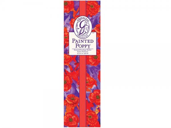 Greenleaf - Duftsachet Slim - Painted Poppy