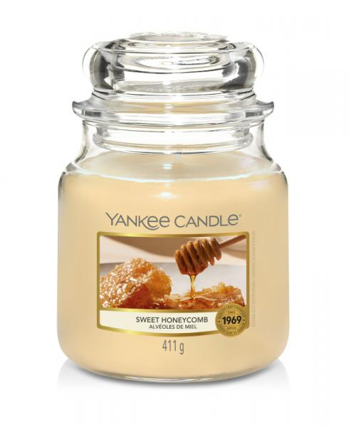Yankee Candle - Classic Medium Jar Housewarmer - Sweet Honeycomb