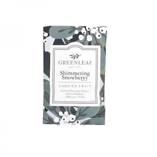 Greenleaf - Duftsachet Small - Shimmering Snowberry Δ