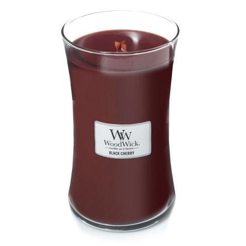 WoodWick - Large Hourglass Duftkerze - Black Cherry