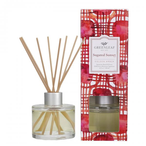Greenleaf - Signature Reed Diffuser - Sugared Sunset