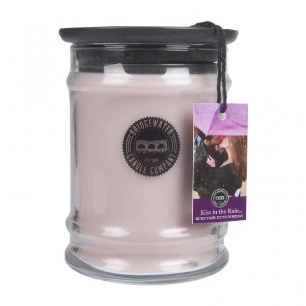 Bridgewater Candle - Kleine Duftkerze im Glas - Small Jar - Kiss in the Rain