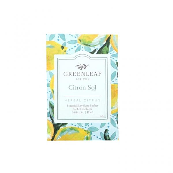 Greenleaf - Duftsachet Small - Citron Sol
