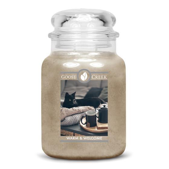 Goose Creek Candle - Classic Jar Duftkerze im Glas - Warm & Welcome